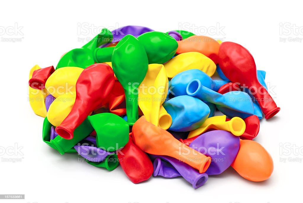 Heap of Balloon stock photo
