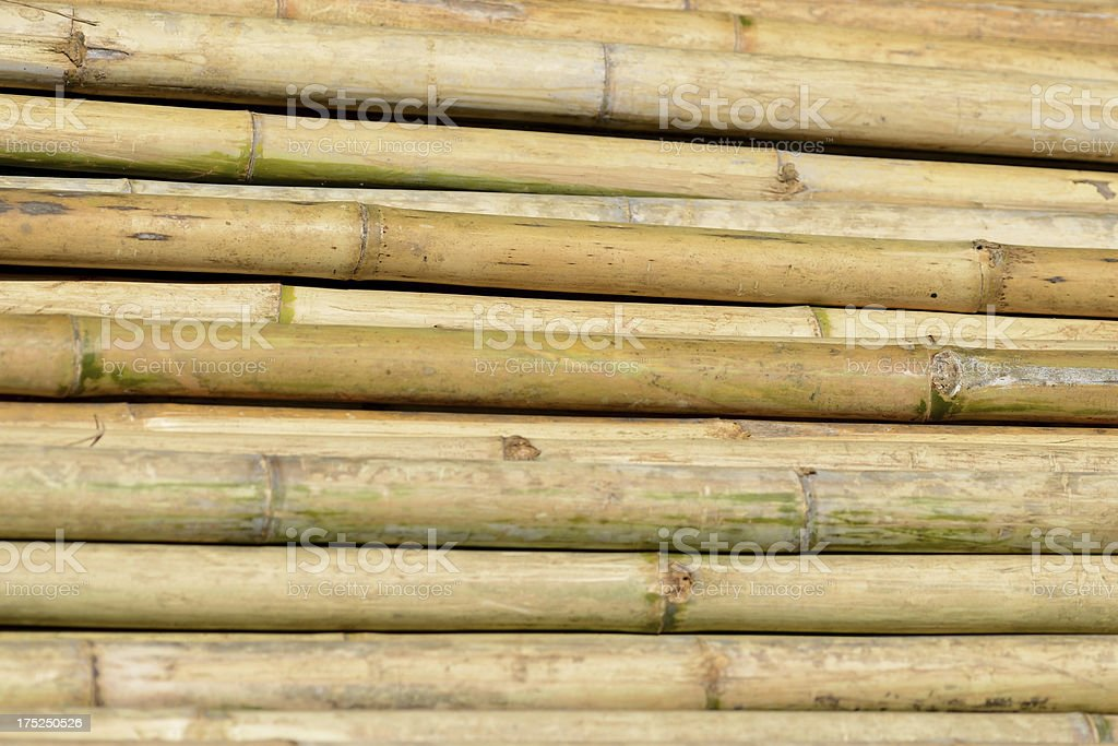 Heap of bamboo royalty-free stock photo