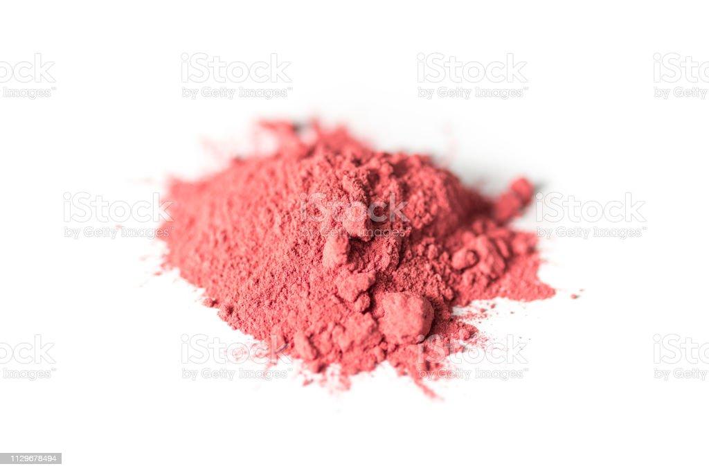 Heap of Beet Root Powder stock photo