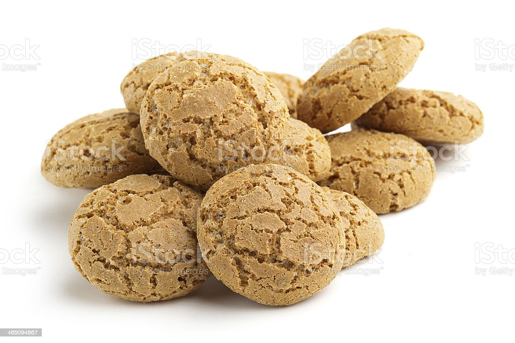 heap of biscuits stock photo