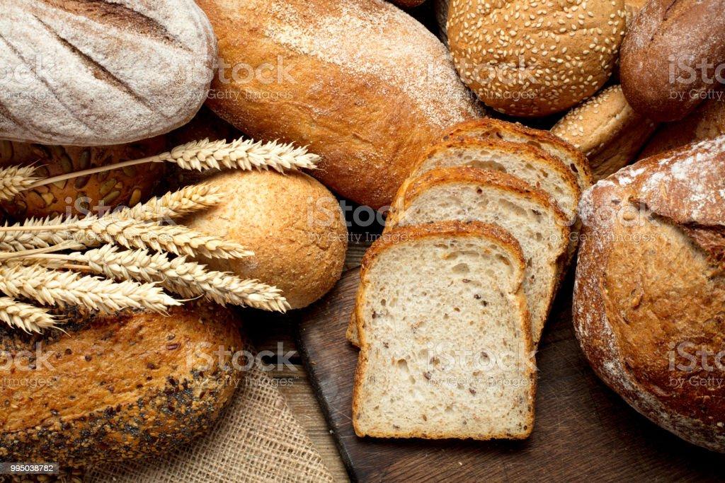 heap of bread royalty-free stock photo