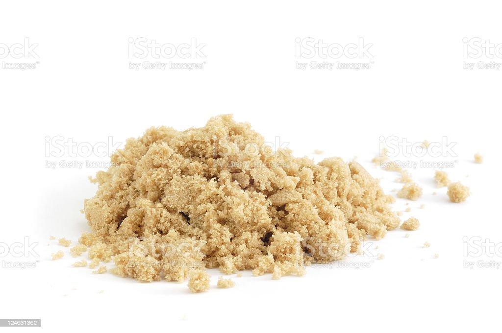 Haufen von braunem Zucker – Foto