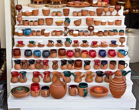 Heap of Ceramic Pots