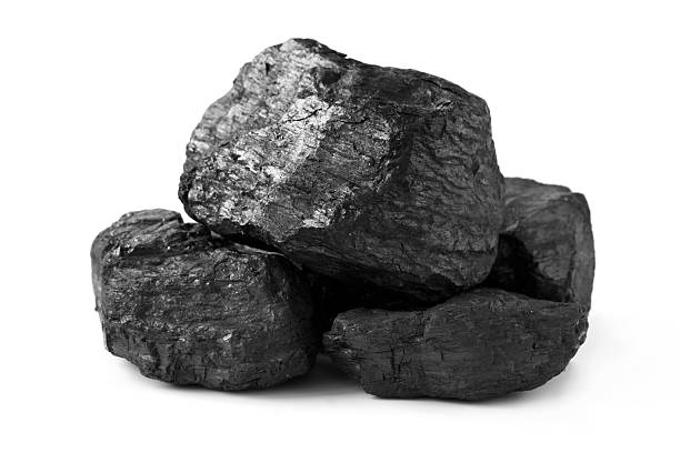 heap of coal - coal stock pictures, royalty-free photos & images