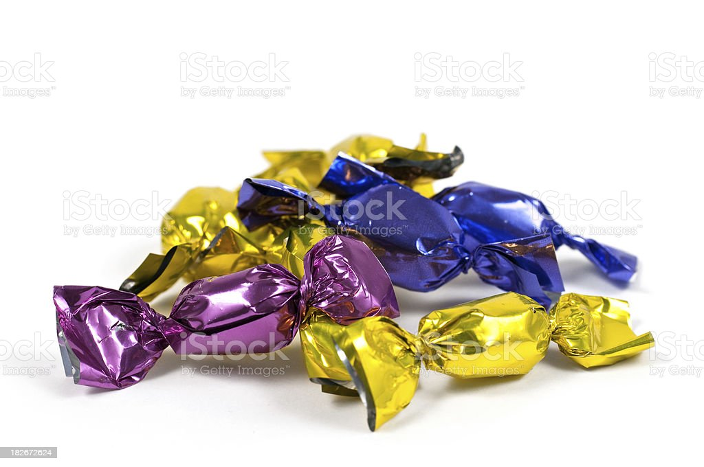 heap of colorful candy royalty-free stock photo
