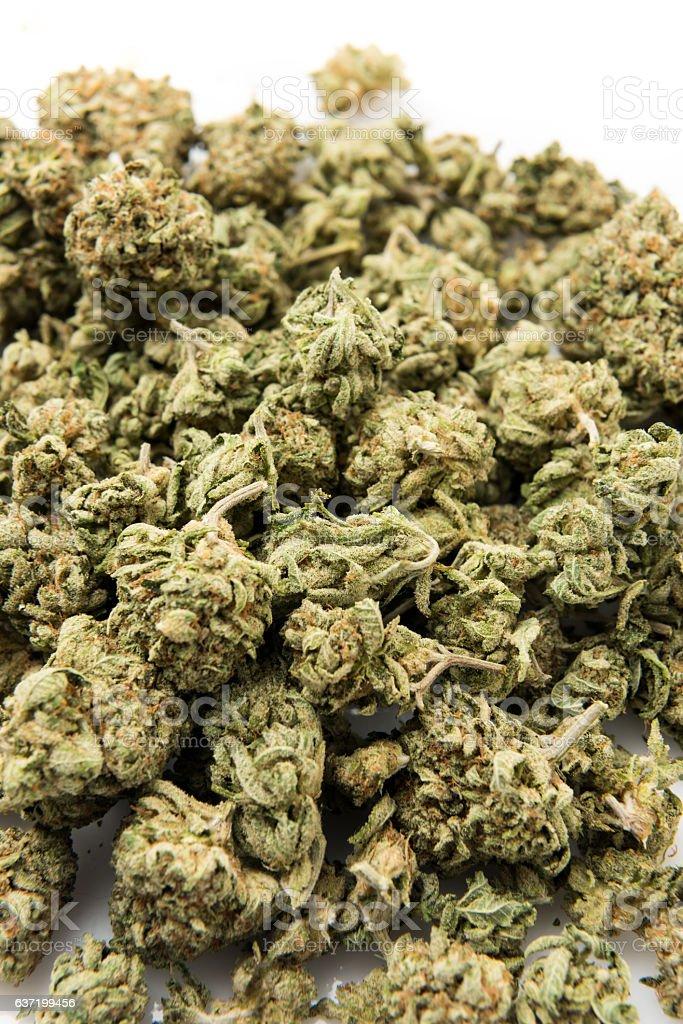 Heap of Marijuana stock photo