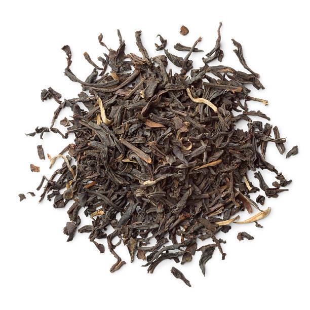 Heap of Nan-Yu tea stock photo