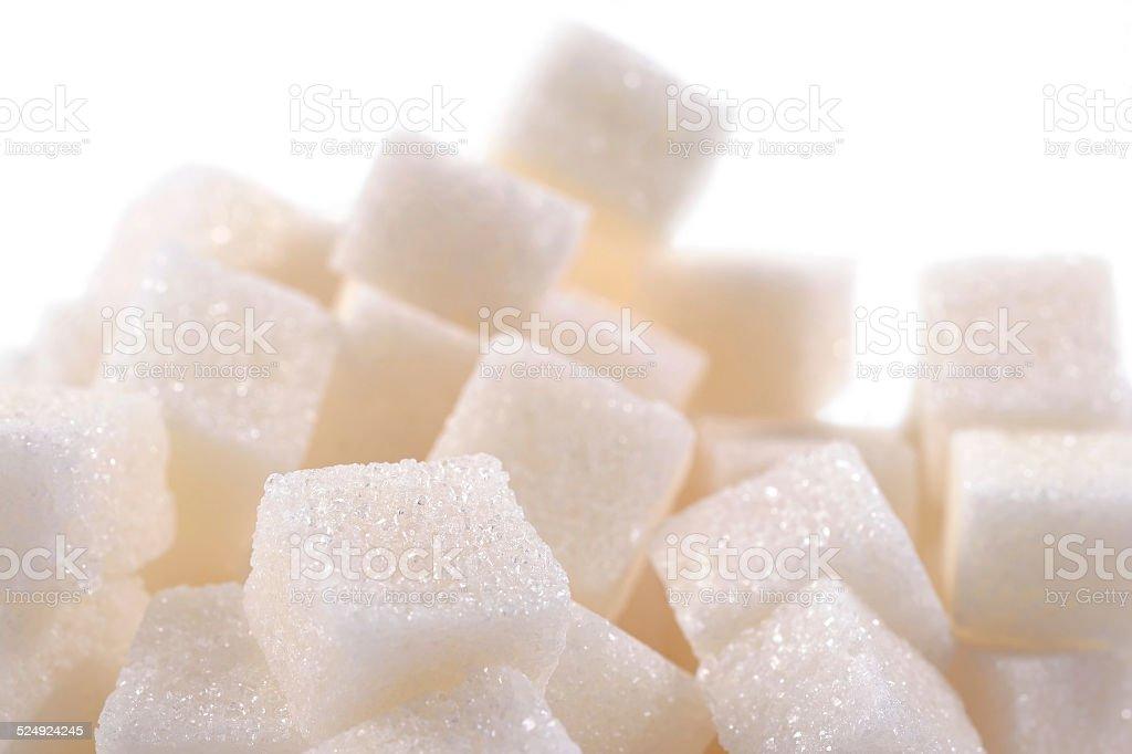 Pila de azúcar refinada - Foto de stock de Aditivo alimentario libre de derechos