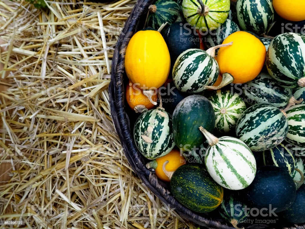 Heap Of Ripe Big Red Peppers At A Street Market, ripe red, green chili, autumn harvest stock photo
