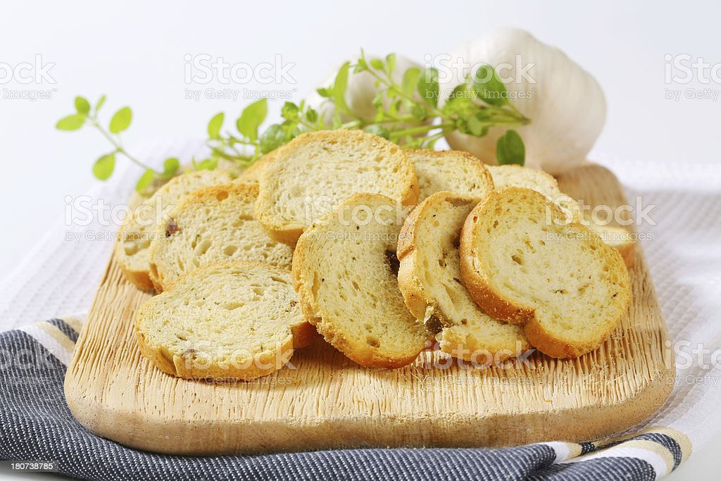 heap of rusks royalty-free stock photo
