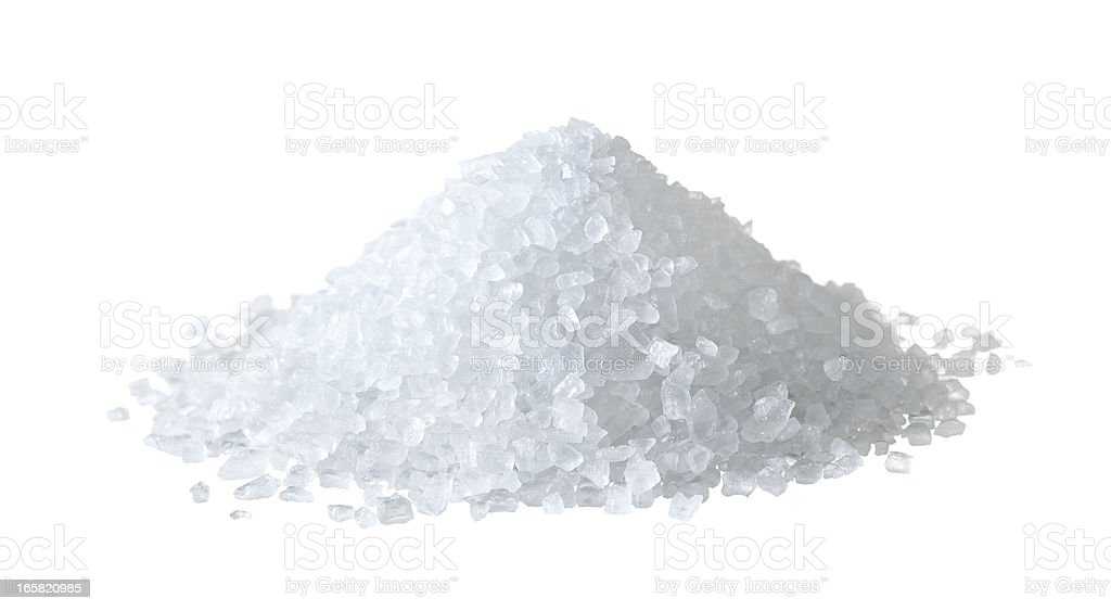 heap of salt stock photo