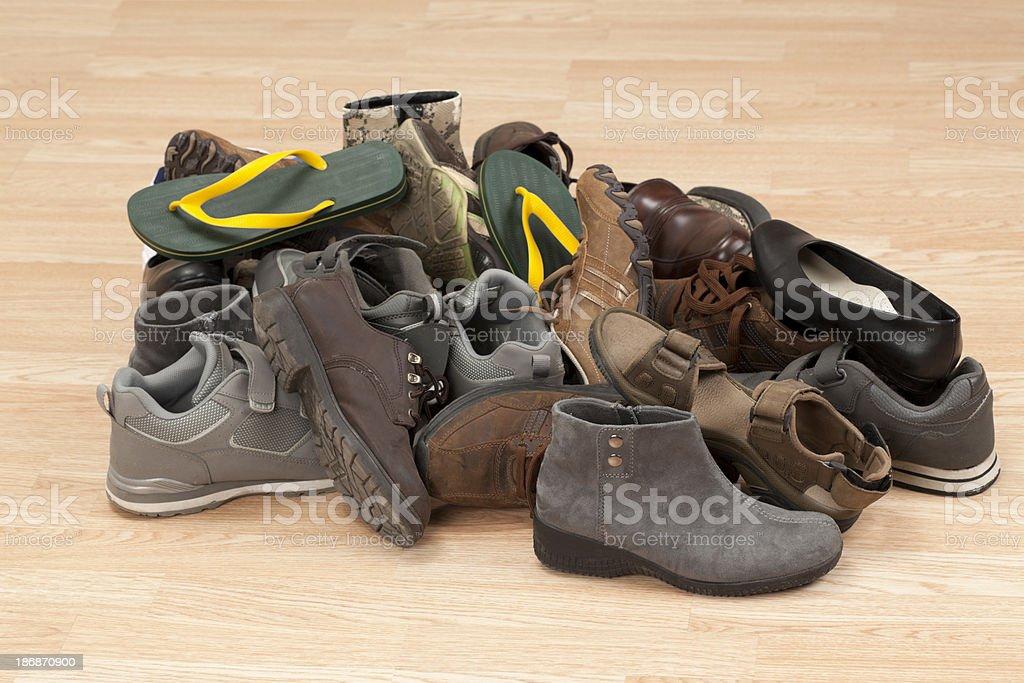 Minier de chaussures photo libre de droits