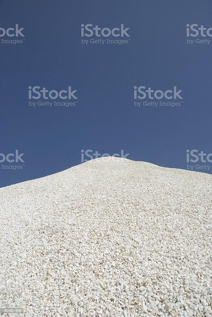 Heap of stones royalty-free stock photo