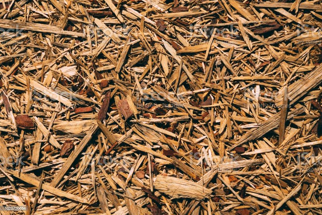 astillas madera jardin