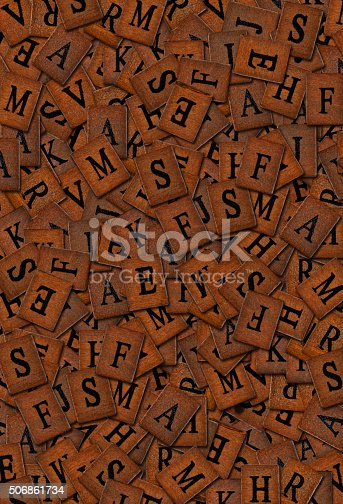 istock heaps of wooden letters 506861734