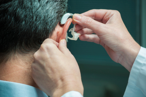 Hearing Aid Stock Photo - Download Image Now