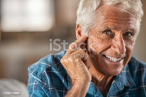 1029343276 istock photo Hearing problems finally solved! 1256273597