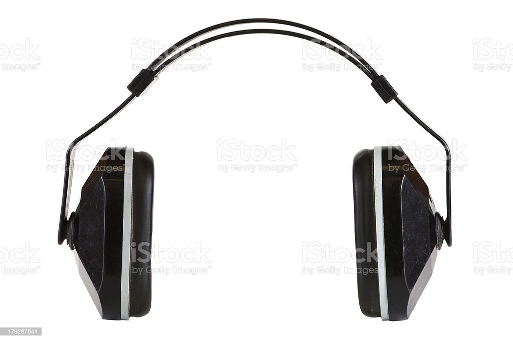Hearing Protection stock photo