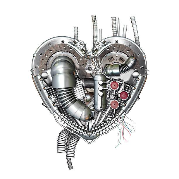 heart, 3d illustration - sanft und sorgfältig stock-fotos und bilder