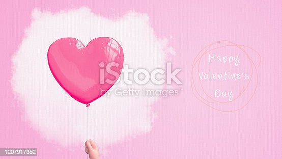 1078237178 istock photo Heart  3D polygon card. 1207917352
