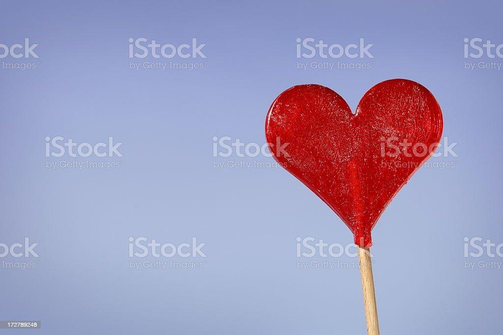 Heart Against Sky stock photo