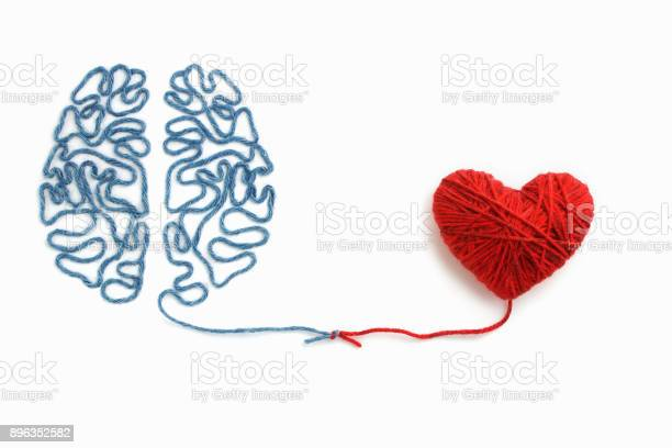 Heart and brain connected by a knot on a white background picture id896352582?b=1&k=6&m=896352582&s=612x612&h=w9h9ttnw3n e6j3vlnn oxliftvh ot0thu2hju0q3c=