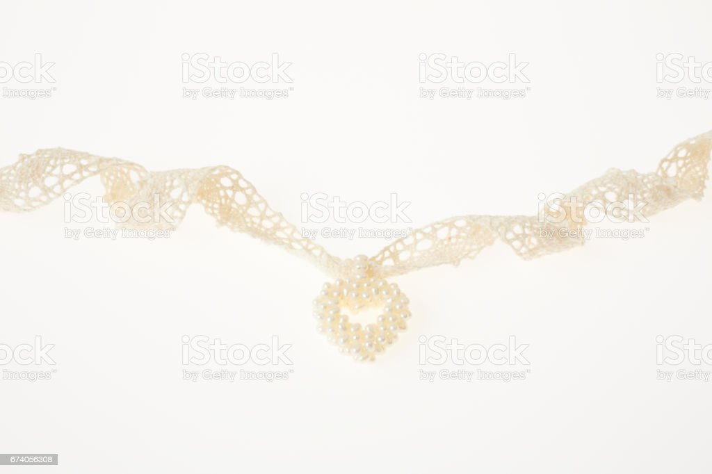 heart and ribbon royalty-free stock photo