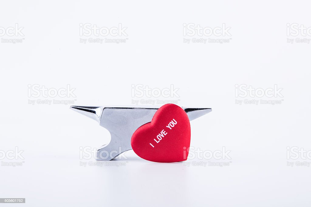heart and smithy stock photo