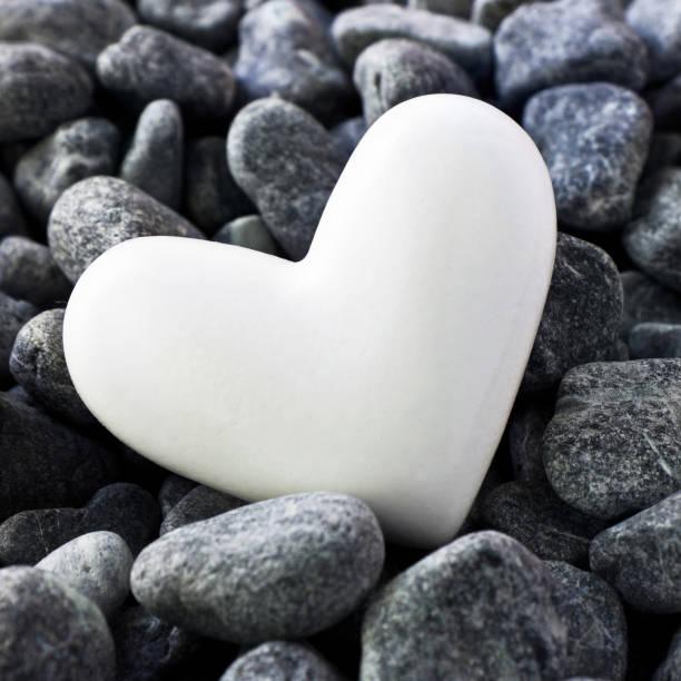 Herz und Steine – Foto