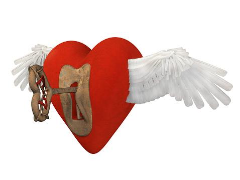 istock Heart angel 516442451