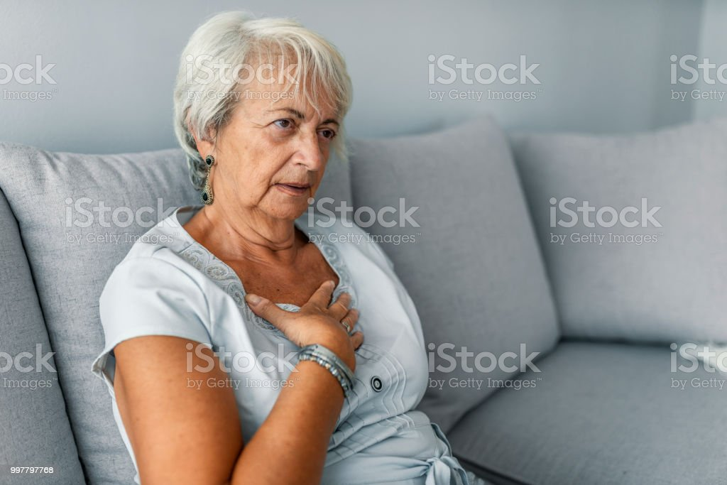 Heart attack concept. stock photo