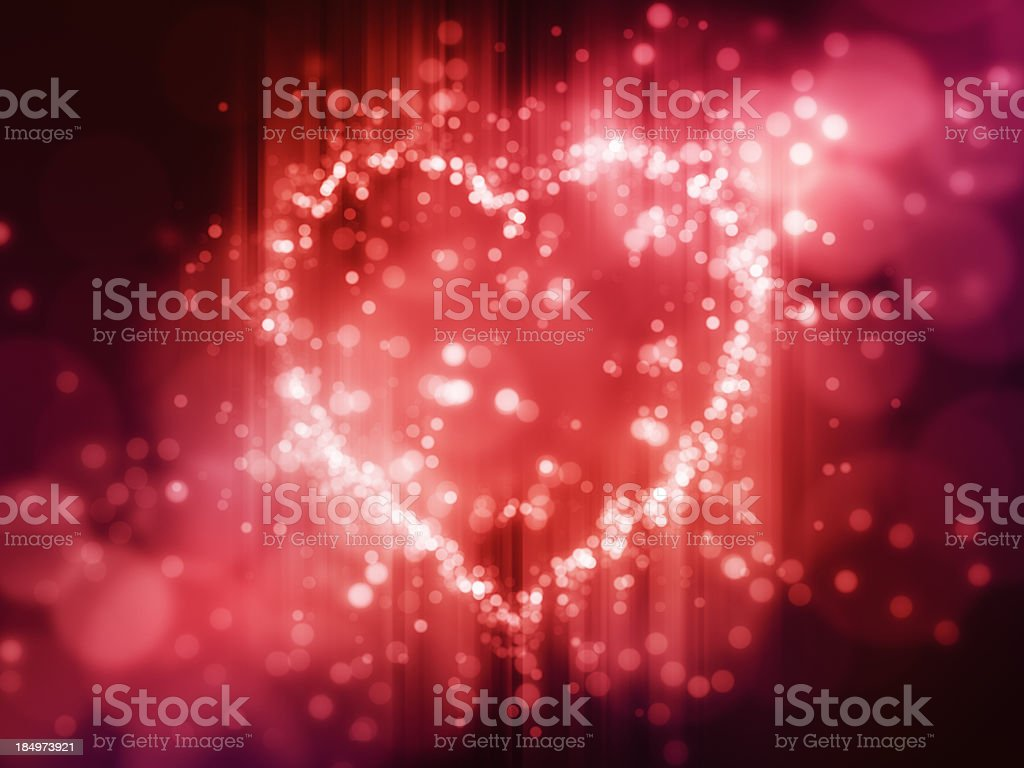 Heart Background Light royalty-free stock photo