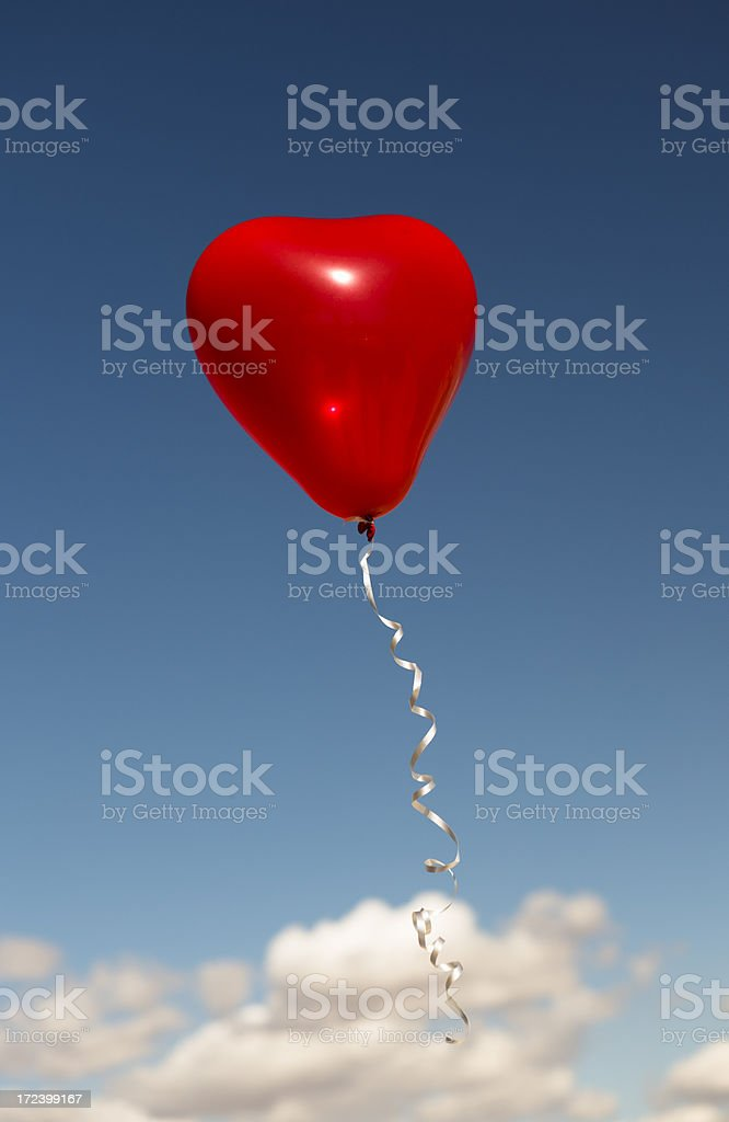 Heart Balloon royalty-free stock photo