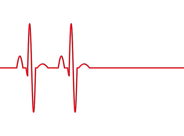 heart beat pulse - taking pulse stock photos and pictures