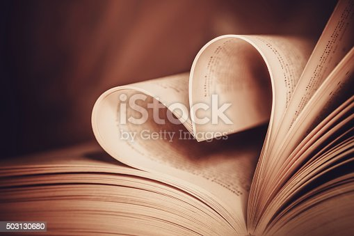 503130452istockphoto Heart book page - vintage effect style pictures 503130680