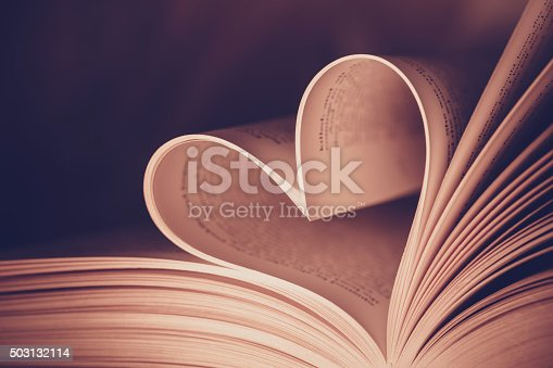 503130452istockphoto Heart book page - vintage effect style pictures 503132114