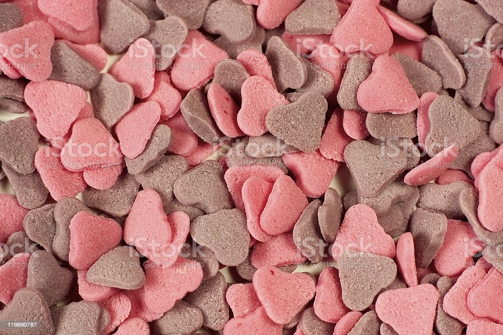 Heart Candies royalty-free stock photo