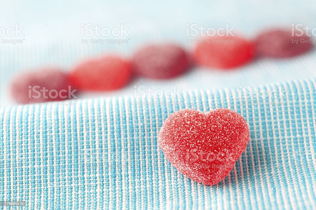 Heart candy royalty-free stock photo