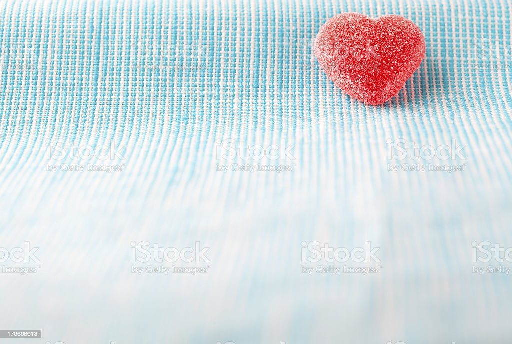 Corazón de caramelo foto de stock libre de derechos