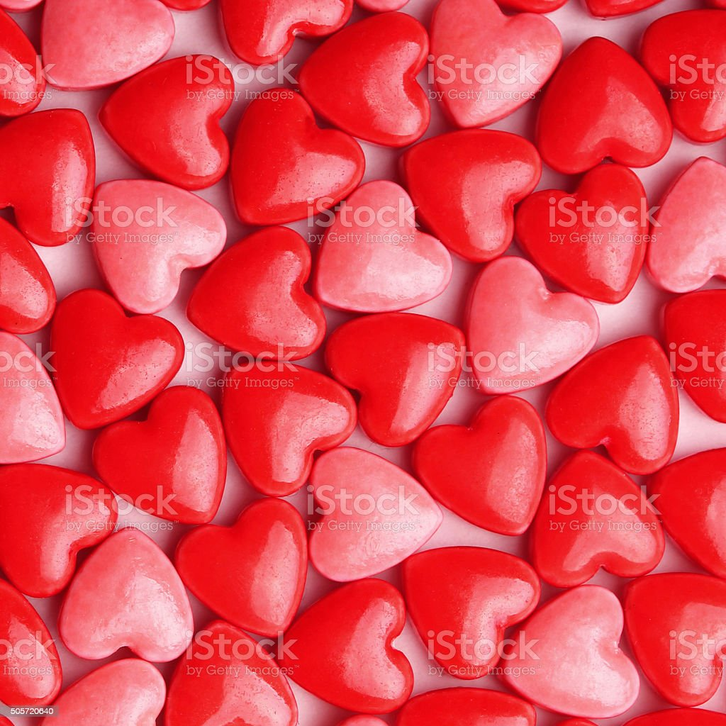 Heart Candy. Valentine's Day stock photo
