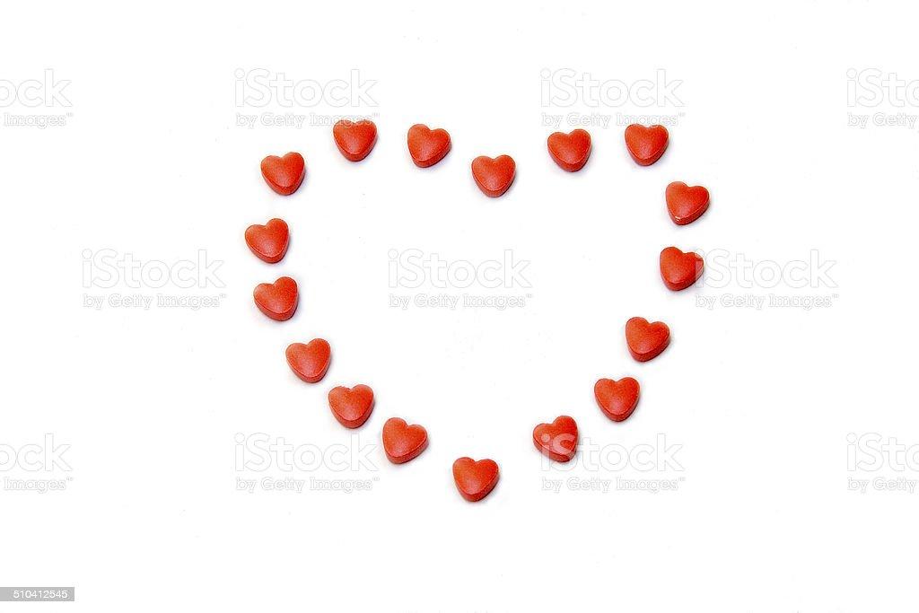 Heart Care Medication stock photo