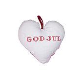 istock Heart Christmas pillow God Jul 854992040