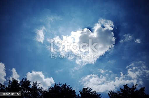 istock Heart cloud 1092042158