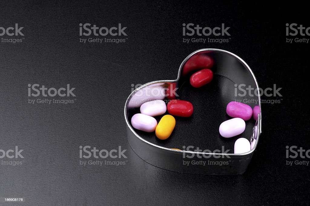 Heart Disease's Prevention royalty-free stock photo