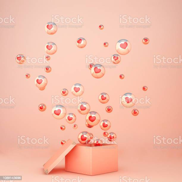 Heart floating out of box on pink background in valentines day 3d picture id1088143696?b=1&k=6&m=1088143696&s=612x612&h=vcymq7cdlfi6ntsv3cvh1nqafh4izob2nul6svacr50=