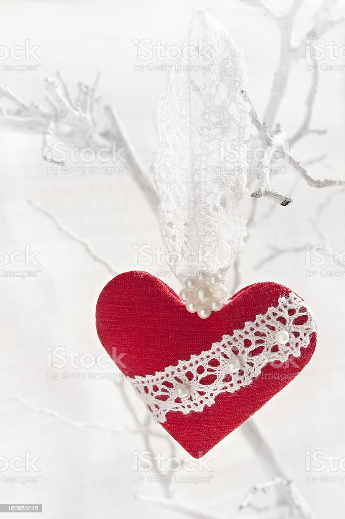 Heart for Valentine's day royalty-free stock photo