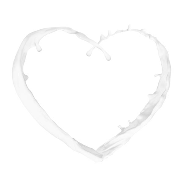 corazón de Splash - foto de stock