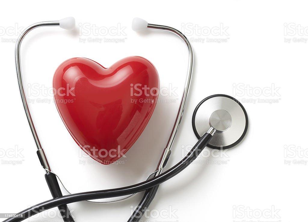 Heart health checkup concept royalty-free stock photo