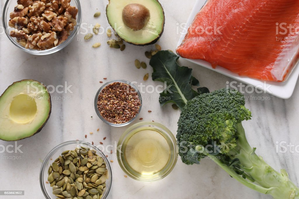 Heart Healthy Foods stock photo