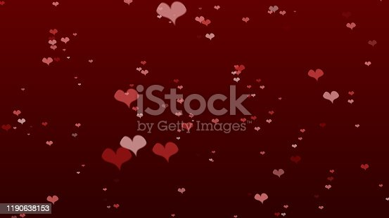 896306118istockphoto Heart icon bokeh on dark color background for Christmas festival or winter season contents or for wallpaper or paper for contents about winter for love content or valentine day or for wallpaper. 1190638153